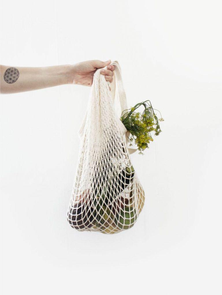 Duurzame boodschappentas